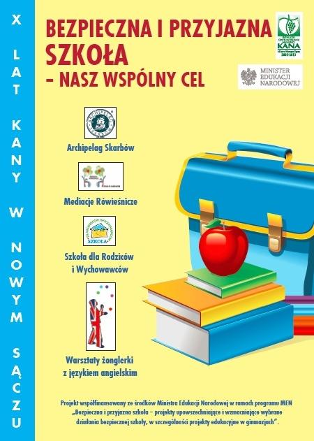 Bezpieczna i przyjazna szkoła – nasz wspólny cel