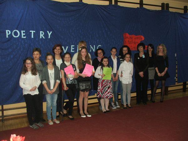 Wyniki III edycji szkolnego konkursu poetyckiego 'Poetry Evening'
