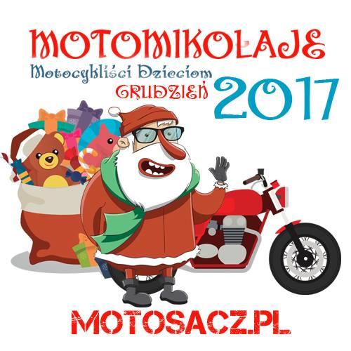 Motomikołaje 2017 – akcja w naszej szkole.