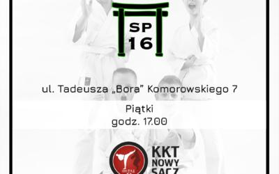 Zajęcia karate w naszej szkole