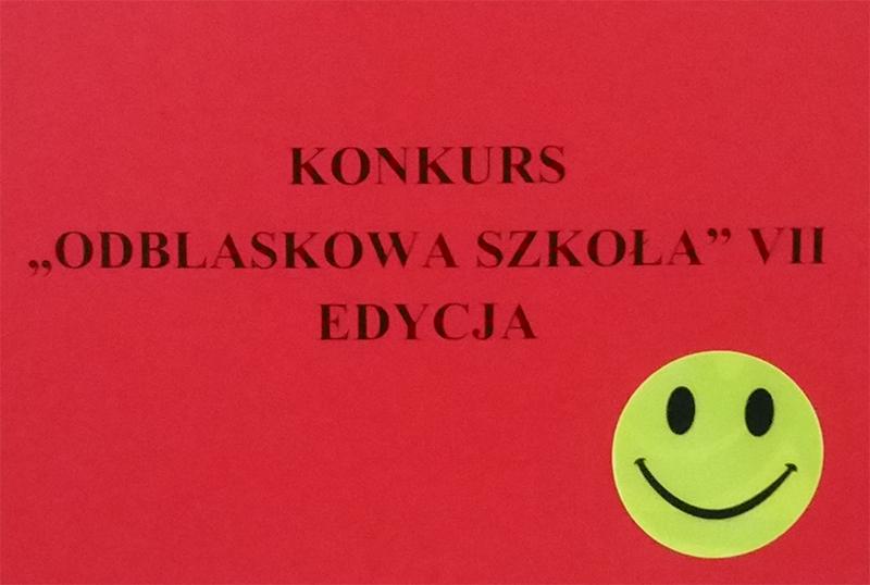 """Bezpieczny spacer w ramach akcji """"Odblaskowa Szkoła"""""""