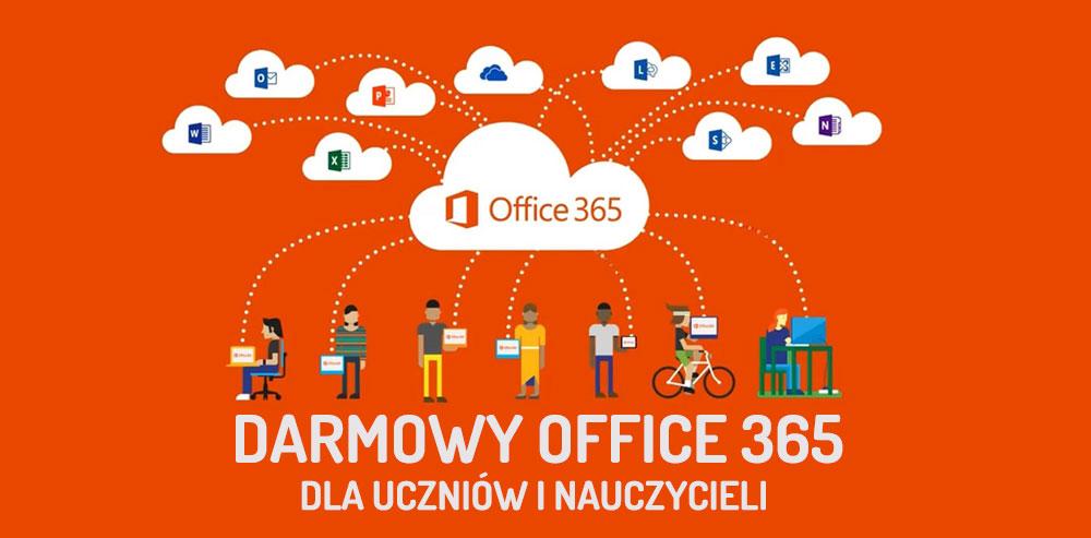 Darmowy Office365 dla uczniów i nauczycieli naszej szkoły